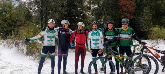 Els Pros de la UCO van tripatja neu el propassat dia 9 de gener